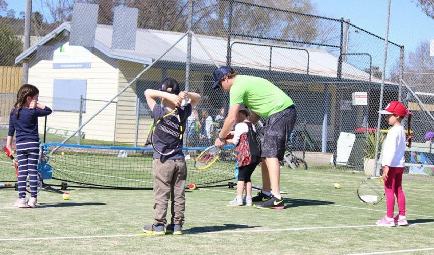 Tennis Australia certified Coaches